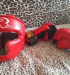 Шлема, перчатки