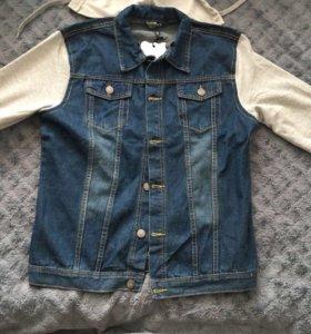 Куртка джинсовая срочно новая XL-2XL