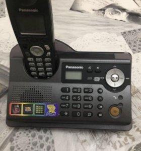 Радиотелефоны Panasonic с базой и