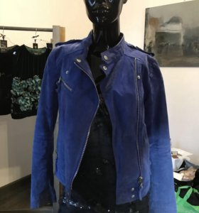 Куртка натуральная замша S
