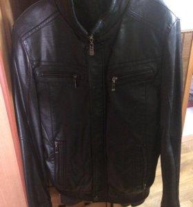 Кожоная куртка
