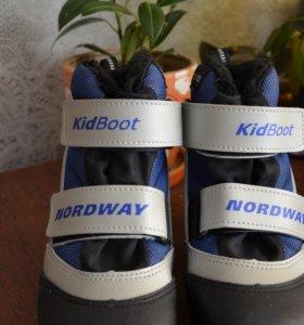 ботинки для лыж.33 размер