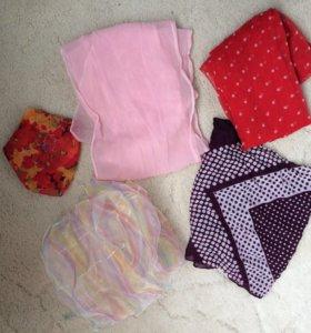 платки шарфы летние