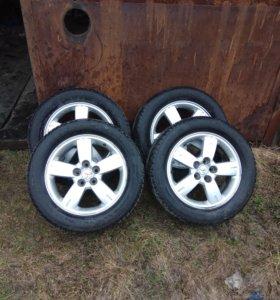 """Колеса на 17"""" диски вместе с шинами"""