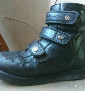 Ботинки ортопедические зимние