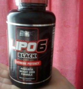 Lipo6 black фирма Nutrex Флорида.