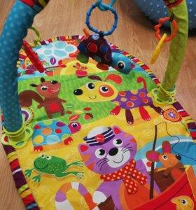 Playgro игрушка коврик активный центр Прогулка