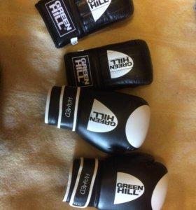Новые боксерские перчатки (снарядные)