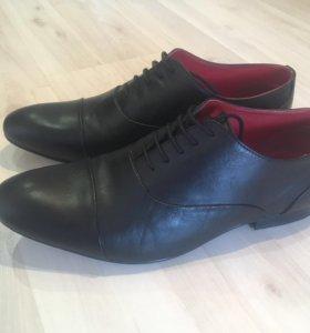 Кожаные туфли мужские