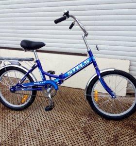 Складной велосипед Stels pilot 410