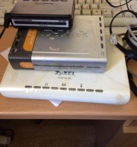 Свичи и ресивер IP-TV