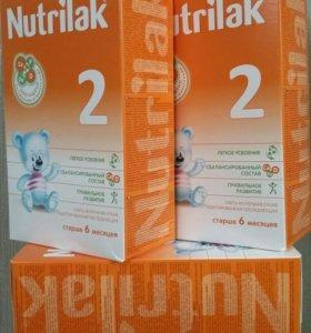 Молочная смесь Нутрилак 2