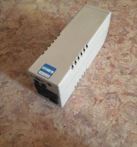 Белый блок для компьютера