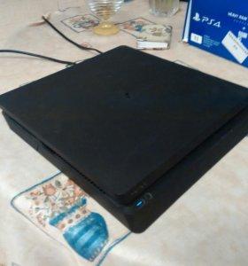Sony PlayStation 4, PS4 1тб +9 топовых игр