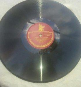 Пластинки для грамофона и патефона