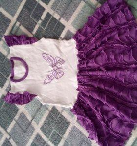 платья для девочки 3-4г