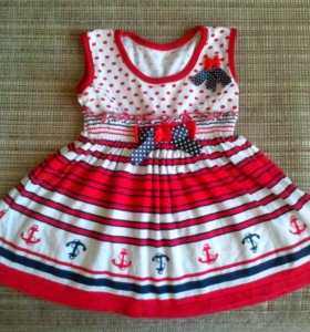 новое платье для девочки 2-3г