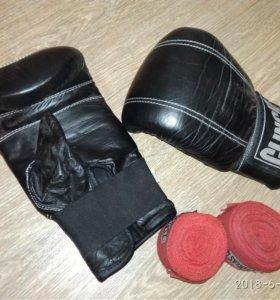 Снарядные перчатки+бинты