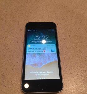 iPhone 5SE - 16 gb, space gray, оригинал