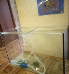 Продаю аквариум 120 литров, 80*30*50 , без крышки