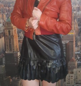 Куртка Cavalli кожаная
