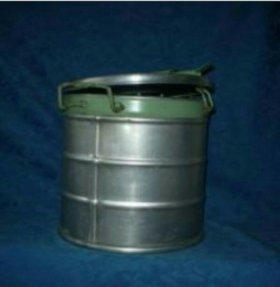 Бак пищевой алюминиевый 25 л