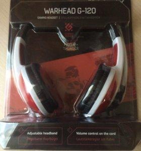 Наушники Defender warhead g-120