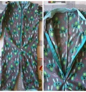 Комбинезон флисовый 86 см
