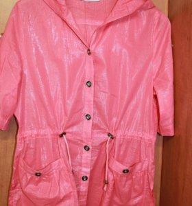 Новая блузка-жакет 48 р-р