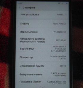 Xiaomi Redmi Note5A