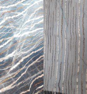 Тюль (отрез 4.5м)с эффектом Крэш очень красивая