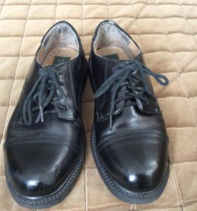 Туфли школьные на мальчика, кожа, б/у , р. 36