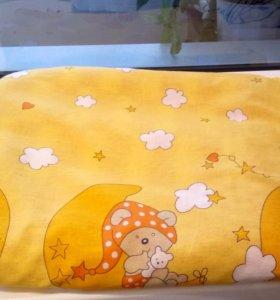 Детское одеяло с пододеяльником.