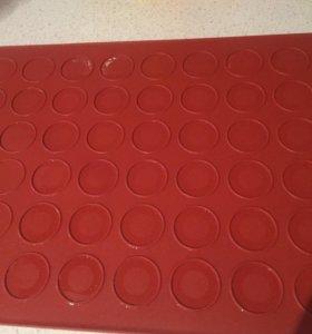 Силиконовый коврик для макарон