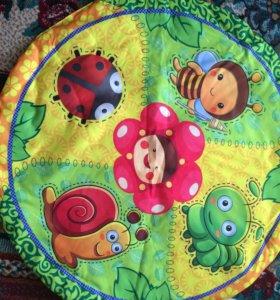 Игровой коврик для новорождённых