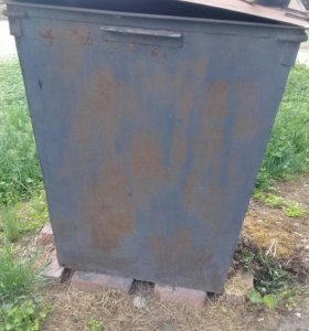 мусорный контейнер (железный)