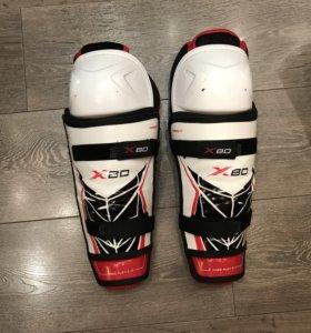 Щитки хоккейные bauer x80