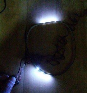 Лент LED светодиодные гирлянда бегущая 12в