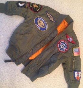 Куртка лётчика 4-5 лет