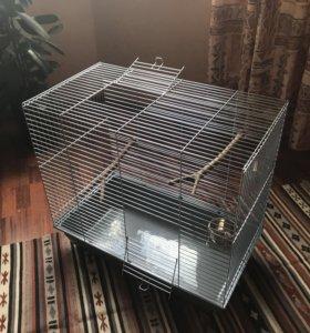 Клетка для птиц/грызунов, состояние новой.