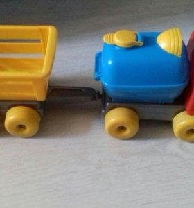 Игрушка Машина с прицепом