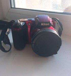 Фотоаппарат компактный Nikon Coolpix L810 RED