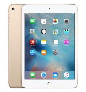Apple iPad mini 4 Wi-Fi + Cellular 128 гб, Золотой