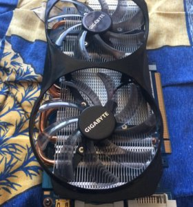 Видеокарта GeForce GTX 560 gigabyte