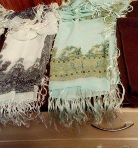 Платки, шарфы