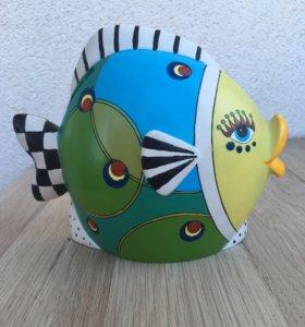 Копилка сувенир рыба мечты