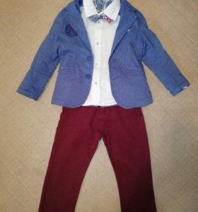 Праздничный костюм для модника, р. 98