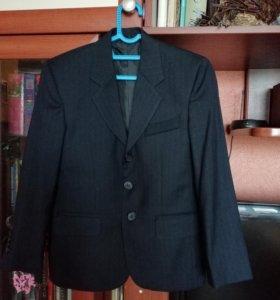Новый школьный пиджак на мальчика р 128-134
