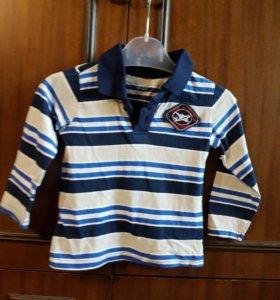 Рубашка поло 86-92