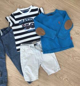 Одежда на мальчика пакетом 3-4 года